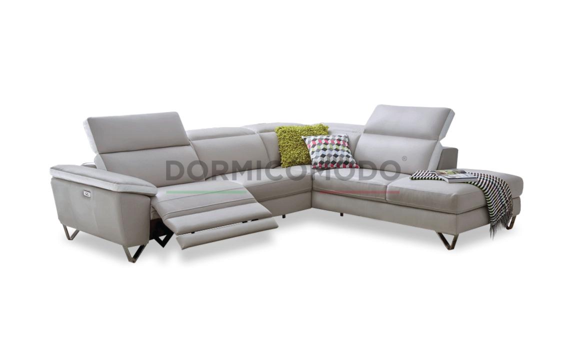Divani Con Movimento Relax.Dormicomodo Divano Angolare Di Design Con Relax