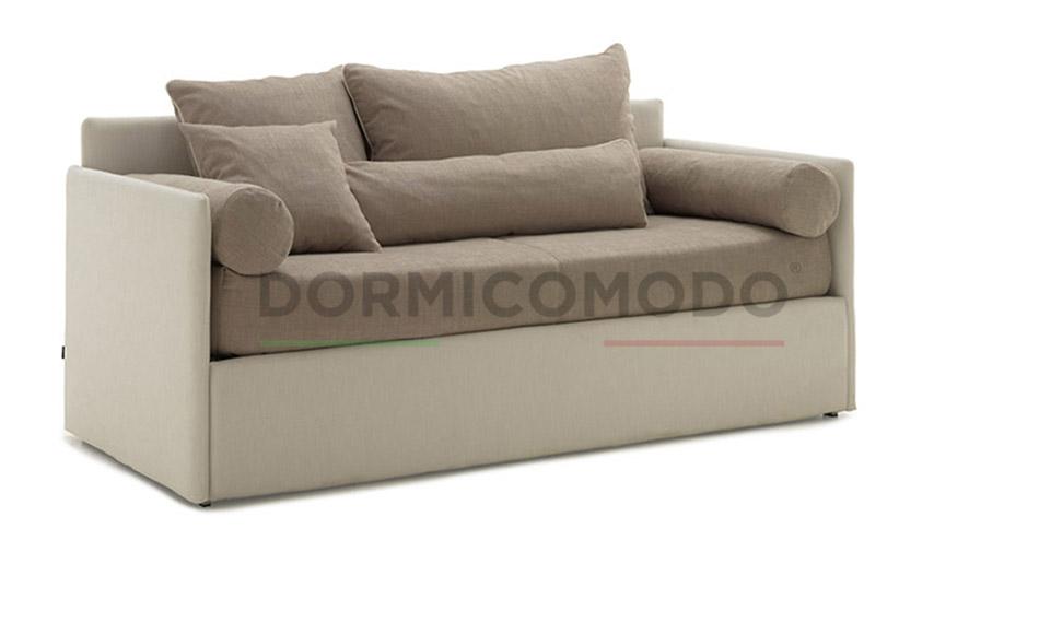 Divano letto con secondo letto estraibile || DORMICOMODO - Fabbrica ...