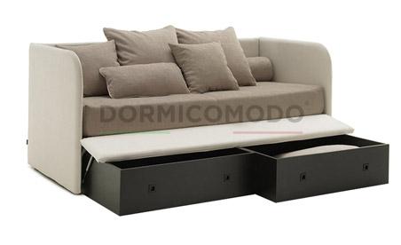 Divani letto box contenitore dormicomodo fabbrica n° di