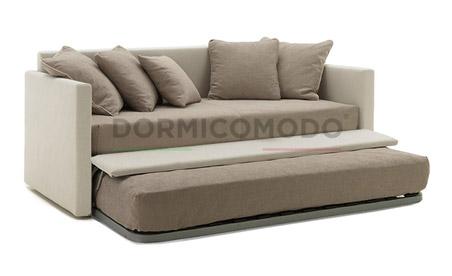 Divani letto dormicomodo fabbrica n 1 di poltrone e divani letto altamura ba - Divano letto con due letti singoli ...